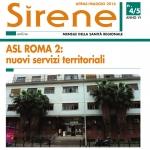 E' online il nuovo numero di Sirene <br> Tutto sulla sanità del Lazio