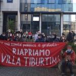 """Villa Tiburtina, i cittadini in lotta: """"riaprire subito"""""""