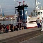 Salute e migranti, test allo sbarco